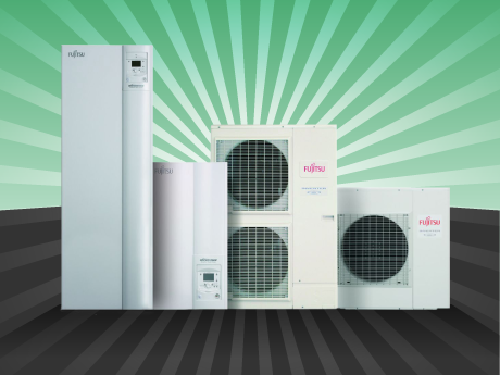 Fujitsu Waterstage heat pumps